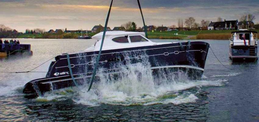 Elling's capsize test video