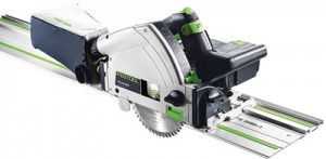 The TSC 55 Cordless Track Saw.