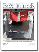 Latest issue of Professional BoatBuilder.