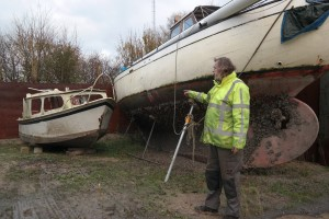 Bram van der Pijll once restored boats, and now he dismantles them. His solution for getting people to pay to dispose of their boats—which they are often reluctant or unable to do—is to offset the disposal cost as much as possible by selling reusable parts.