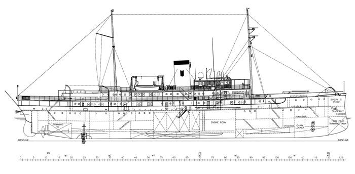 Delphine II original blueprint