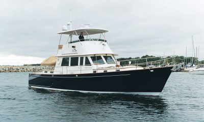 """In his profile of Mark Ellis (Professional BoatBuilder No. 138), Rob Mazza wrote that the 56' (17m) Ventana is """"the zenith of Ellis's work in powerboats,"""" and Bruckmann built her to perfection."""