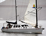 Sailing yachts.