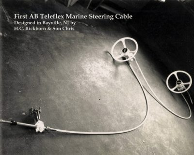 Big-T Teleflex steering cable