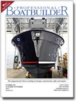 Cover image from Professional BoatBuilder magazine
