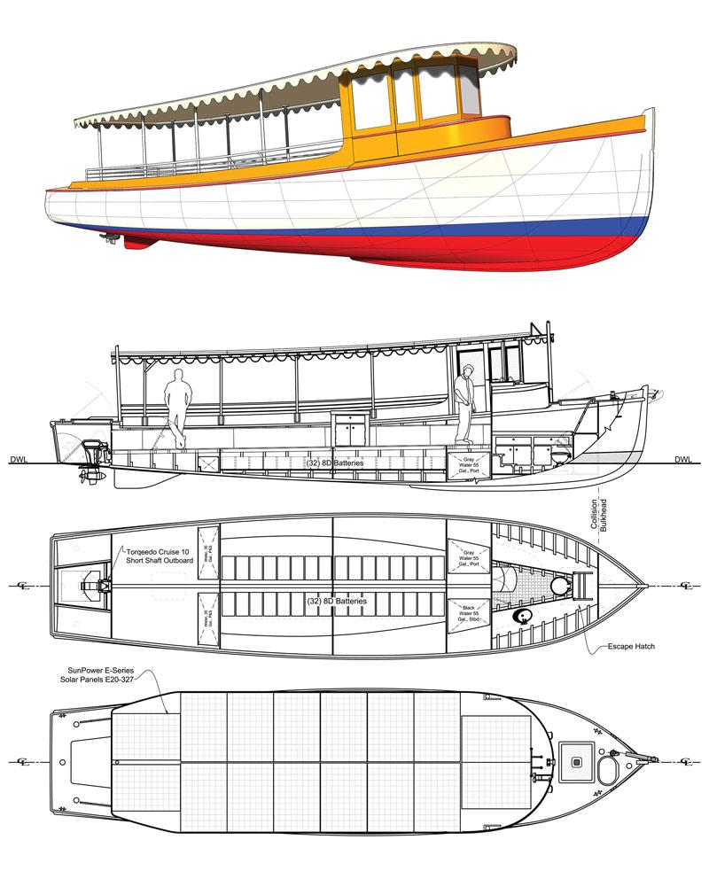 Solar Sal drawings