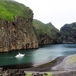 The author made port in the Faroe Islands having avoided a potential hydraulic failure by replacing a broken raw-water pump on the passage from Scotland. Carrying the correct spare parts is essential when voyaging to such remote destinations.