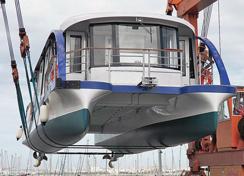 Flandre electric ferry launch