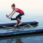 The Schiller X1 pedal-powered watercraft
