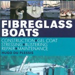 The book cover for Fibreglass Boats.