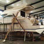 X43 motoryacht under construction