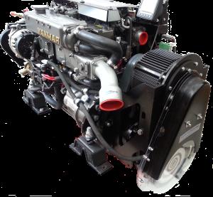 A Yanmar 70 with twin motor multi-mode hybrid.