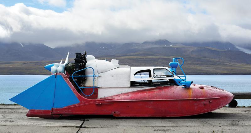 aerosledge ground effect vehicle