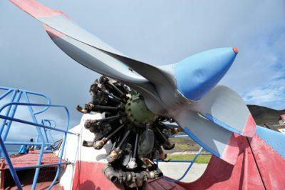 Aerosledge propeller