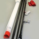 mast kit made of carbon fiber tubes