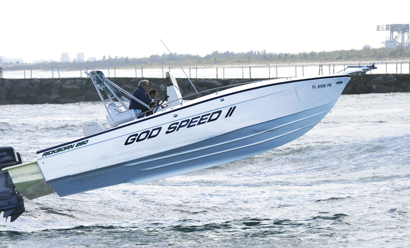 26-foot center console