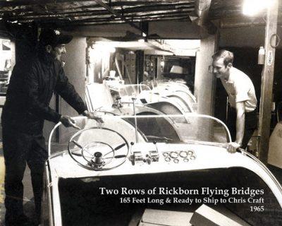 Harold Rickborn's patented flying bridges