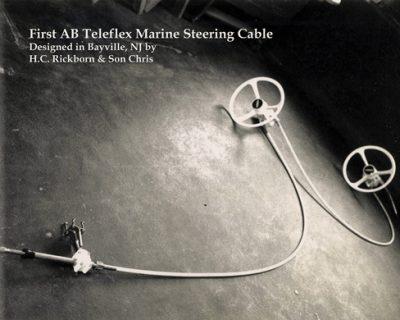 Big-T Teleflex steering cable