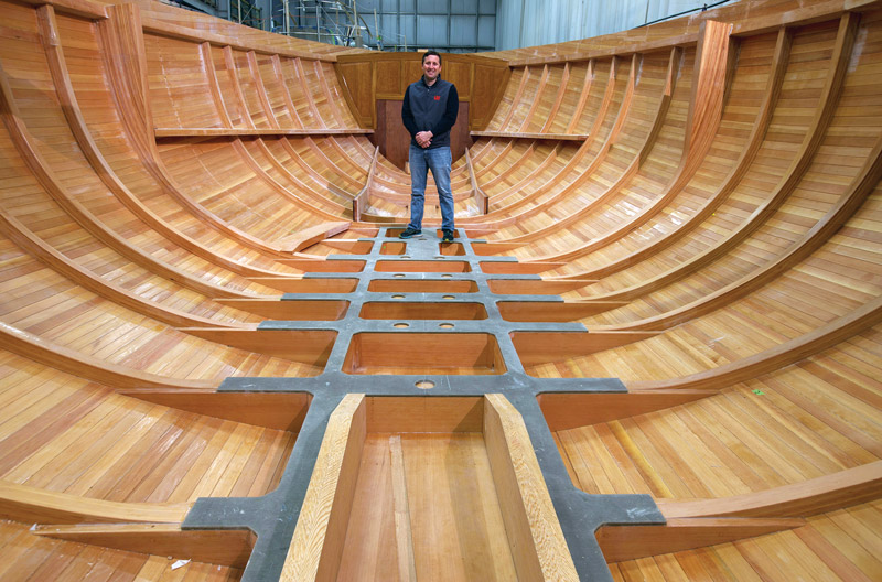 Lyman-Morse Builds New in Wood and Glue - Professional BoatBuilder Magazine