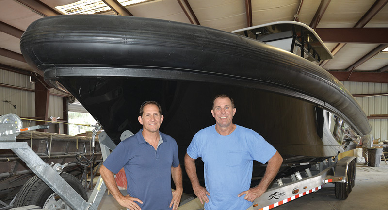 Dean Maggio and Robert Helmick of Ocean 1 Yachts