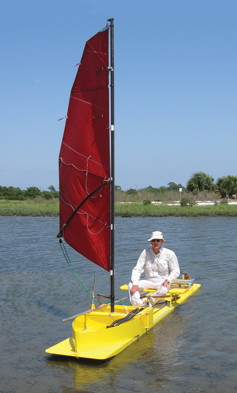 Meade Gougeon's small boat Yellow Thing