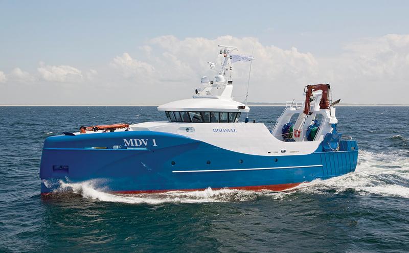 Innovative Dutch fishing vessel
