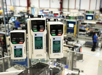 Unidrive M variable-speed drives from Control Techniques