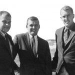 Fred Heald, Everett Pearson and Clinton Pearson