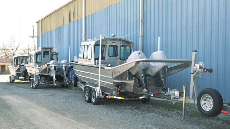 Scully's Aluminum Boats workboats