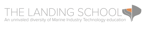 Landing School logo