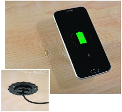 ROKK wireless waterproof chargers.
