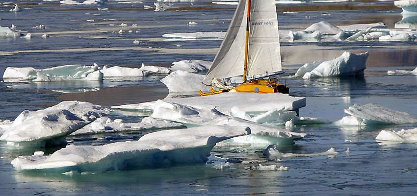 Sailing to the North Pole