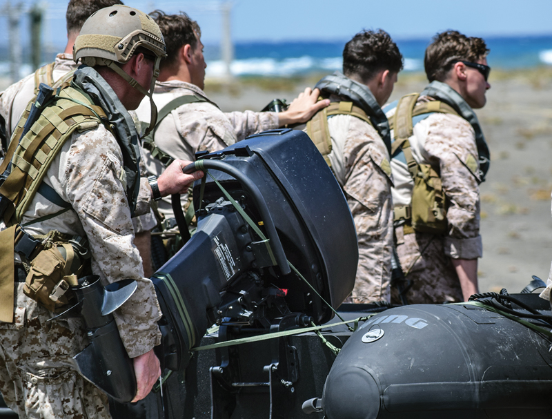 Raider Outboards are Military Grade - Professional