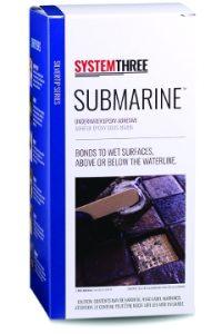 System Three Submarine adhesive.