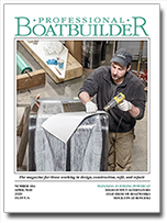 Professional BoatBuilder magazine cover