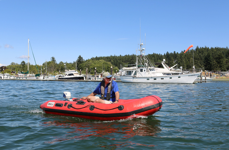 EP Carry, inflatable dinghy