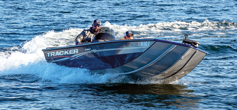 Tracker 170 bass boat