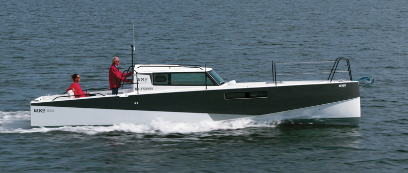 The original Loxo 32 with inboard diesel