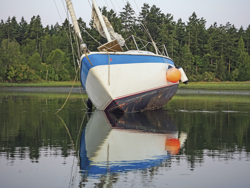 Derelict vessel