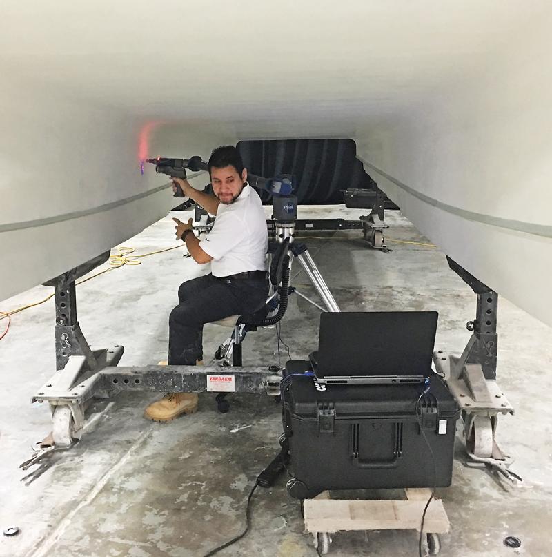 3D Hull scan