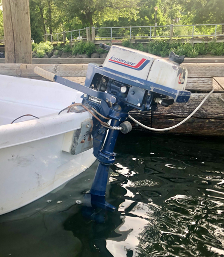 Small outdated outboards