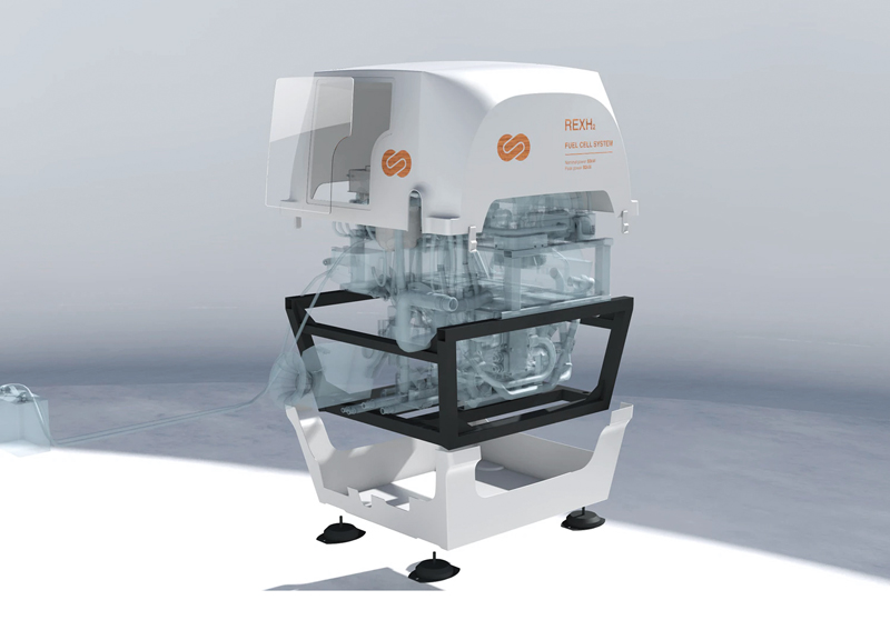 EODev's REXH2 fuel-cell generator
