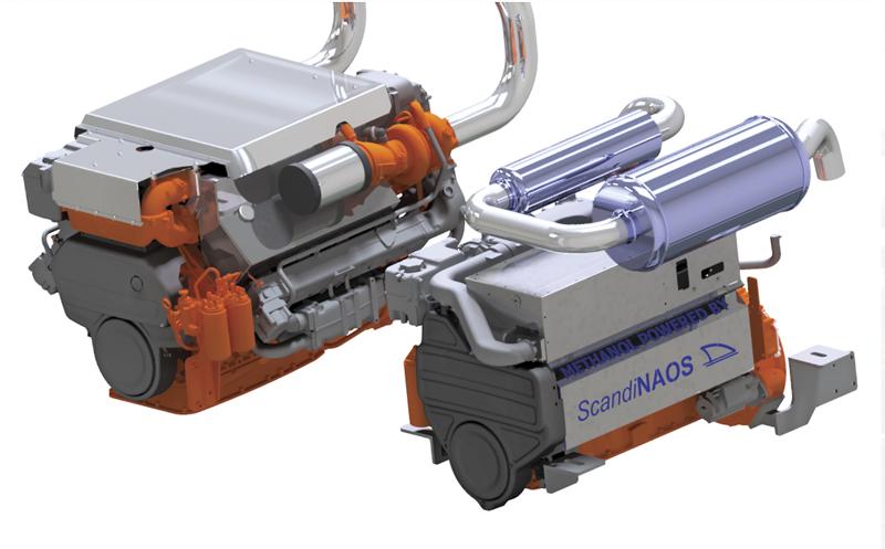 Scandinaos Conversion of Diesel Engine to Methanol