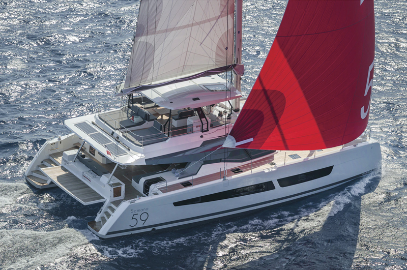 Samana 59 Catamaran