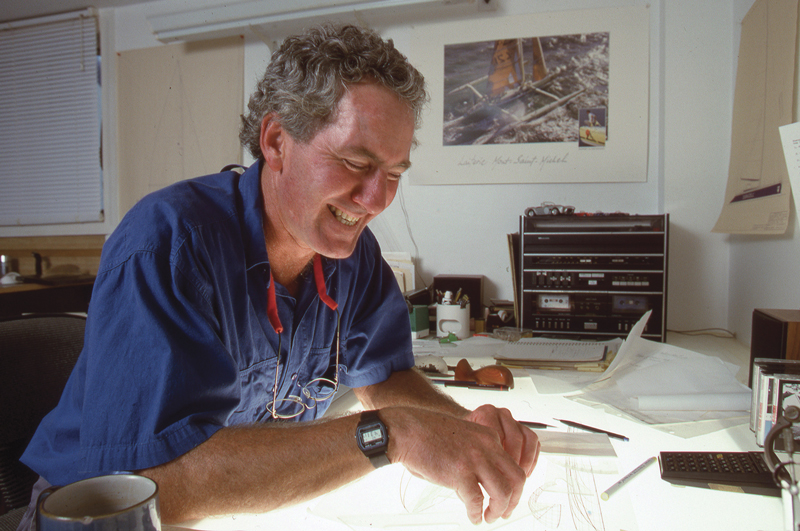 Rodger Martin at work
