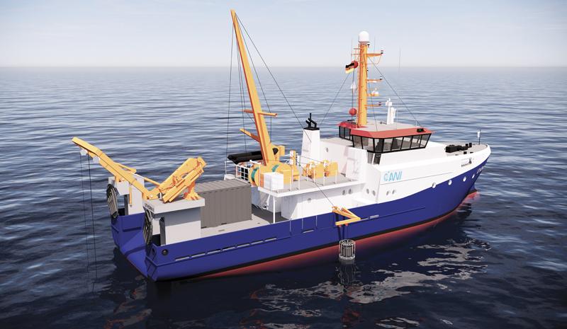 Uthoern II, Research Vessel, Methanol Powere#d