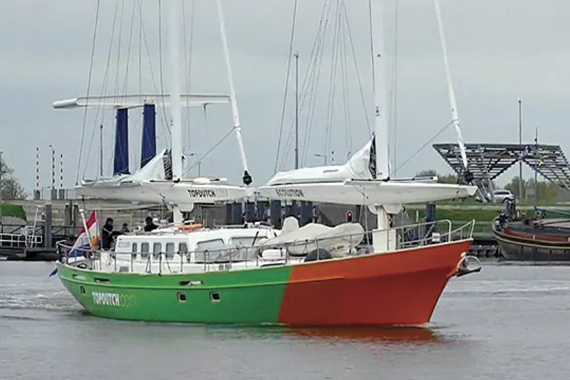 Ecolution Steel Sailing Yacht